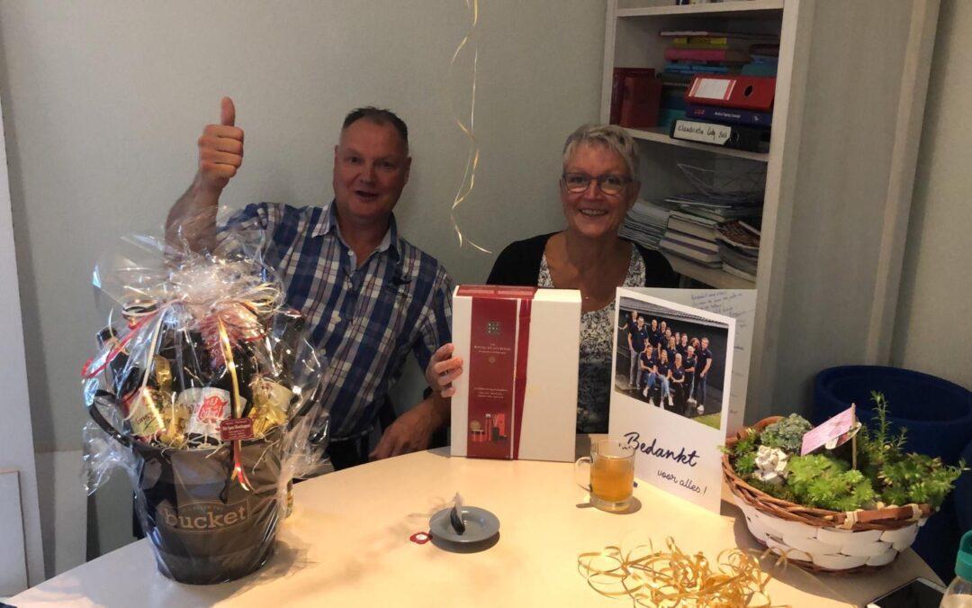 Jan & Lidy Vermeltfoort naar de volgende fase