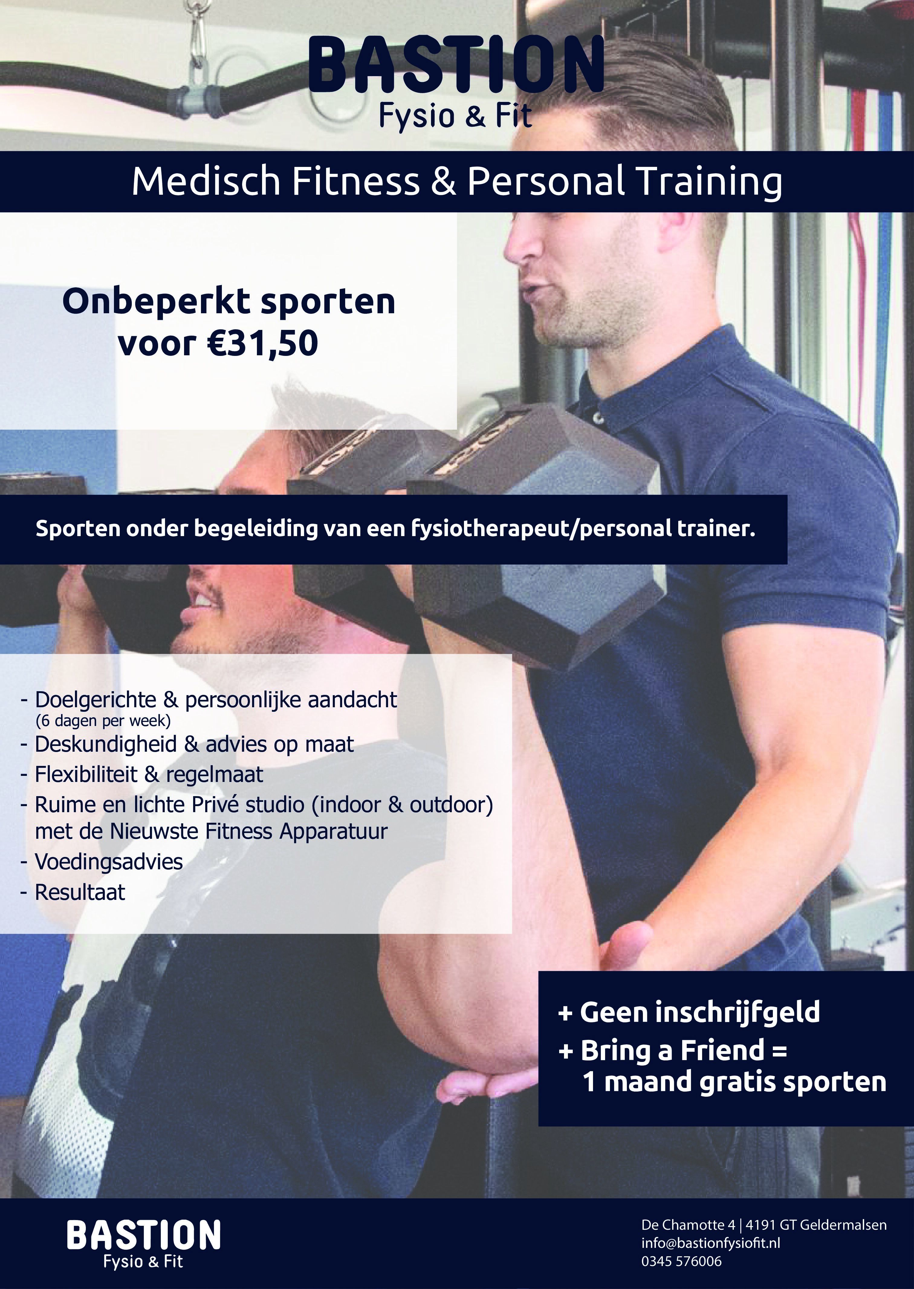 | Medisch fitness & Personal training